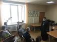 Клирик Новосибирской епархии провел встречу с сотрудниками уголовно-исполнительной инспекции